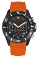 orange - Montre entreprise sport