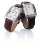 Montre-new-york-homme-noir-marron
